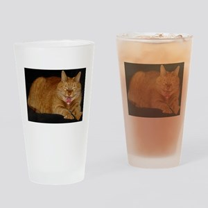 Psycho Kitty Drinking Glass
