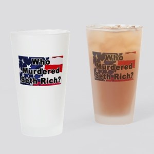 Who Murdered Seth Rich? Drinking Glass