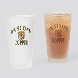 d'Anconia Copper Retro Miner Drinking Glass