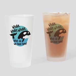 Whale Whale Whale Drinking Glass