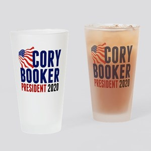 Cory Booker 2020 Drinking Glass