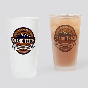 Grand Teton Vibrant Drinking Glass