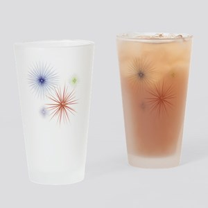 Fireworks Drinking Glass