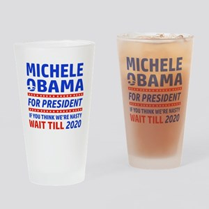 Michelle Obama 2020 designs Drinking Glass