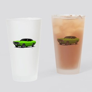 1970 Challenger Sub Lime Drinking Glass