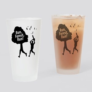 Run Forest Run Drinking Glass