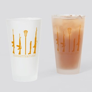 Lacrosse Weapons Pint Glass