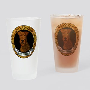 Irish Terrier Drinking Glass