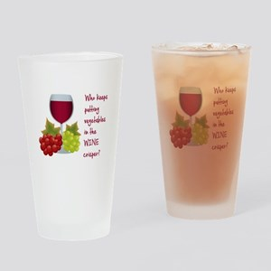 Funny Wine Lovers Quote Drinking Glass