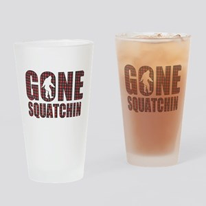 Gone Squatchin rp2 Drinking Glass