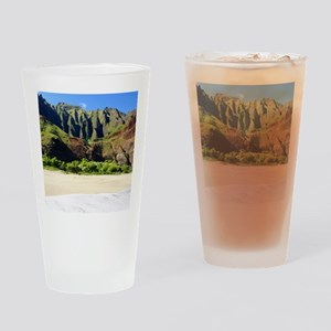 Kalalau Beach Kauai Drinking Glass