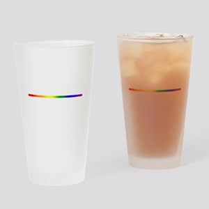 PRIDE STRIPE Drinking Glass