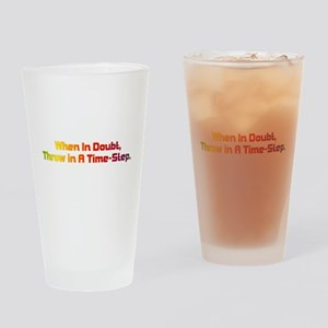 Time Step Drinking Glass