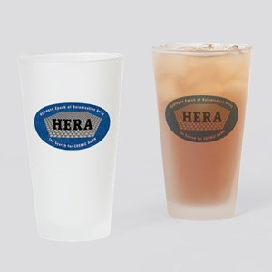 HERA Logo Drinking Glass