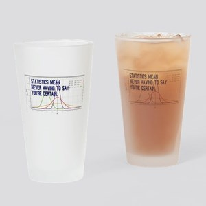 Statistics Means Uncertainty Drinking Glass