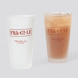 FRA-GI-LE [A Christmas Story] Drinking Glass