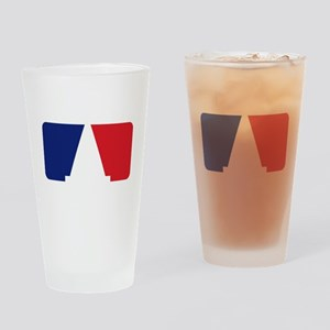 Major League Autocross Drinking Glass