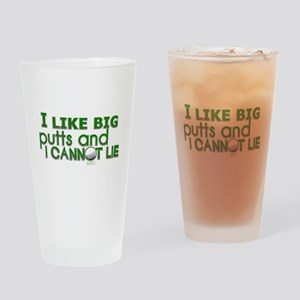 I Like Big Putts Drinking Glass