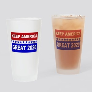 Keep America Great 2020 Drinking Glass