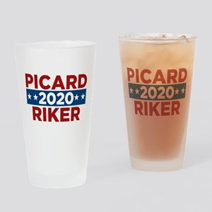 Star Trek Picard Riker 2020 Drinking Glass