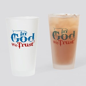 In God We Trust! Drinking Glass