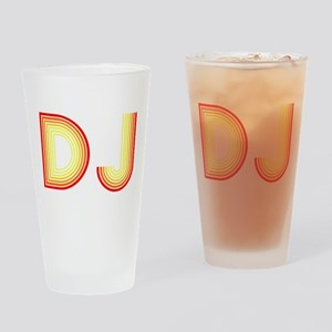 DJ Drinking Glass
