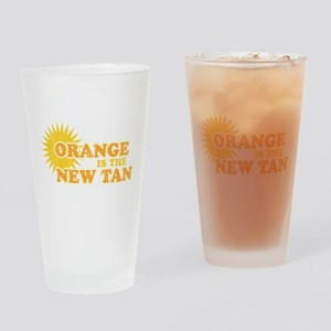 Orange is the New Tan Pint Glass