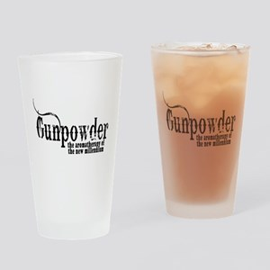 Gunpowder Gun Humor Drinking Glass