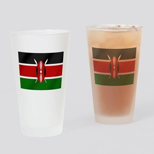 Flag of Kenya Drinking Glass