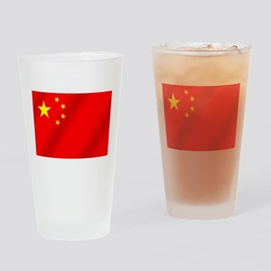 Flag of China Drinking Glass
