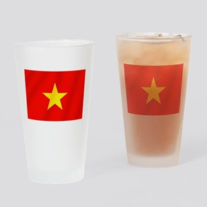 Flag of Vietnam Drinking Glass