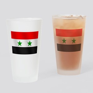 Flag of Syria Drinking Glass