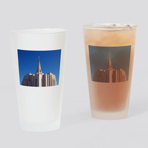 LDS Gilbert Temple Drinking Glass