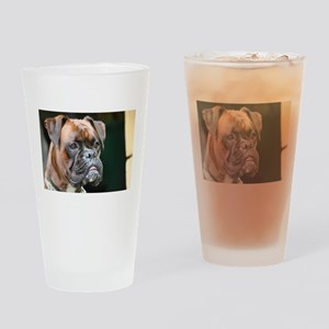 boxer Drinking Glass