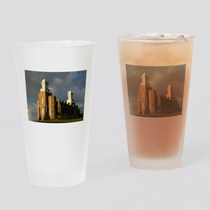 Logan temple Pint Glass