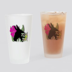 Mule Mom Drinking Glass