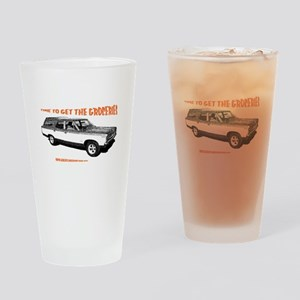 GET THE GROCERIES Drinking Glass