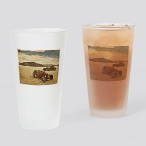 Hot Rods at Bonneville Drinking Glass