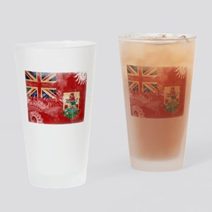 Bermuda Flag Drinking Glass