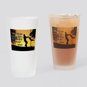 Mr. Rogers Child Hero Quote Drinking Glass