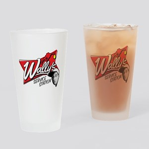 Wally's Service Station Drinking Glass