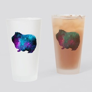 Galactic Guinea Pig Drinking Glass