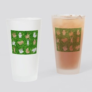 funny sloths Drinking Glass
