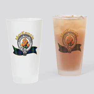 MacKenzie Clan Drinking Glass