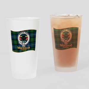 MacLeod Clan Drinking Glass
