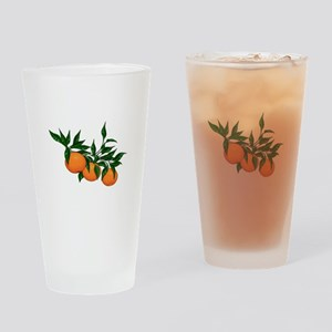 ORANGE DELIGHT Drinking Glass