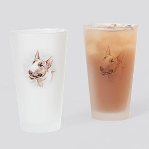 BULL TERRIER - DOG Drinking Glass