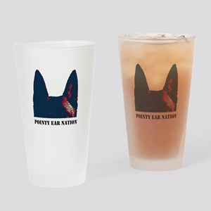 Pointy Ear Nation Drinking Glass
