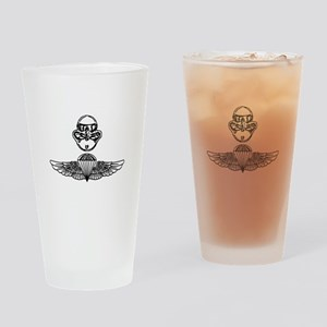 Duel Qualified Special Operations USMC Drinking Gl