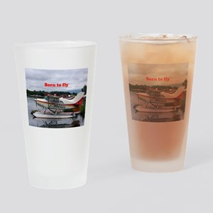 Born to fly: Float plane 12, Lake H Drinking Glass